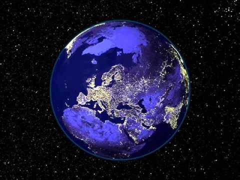 il pianeta terra visto dallo spazio the earth from the