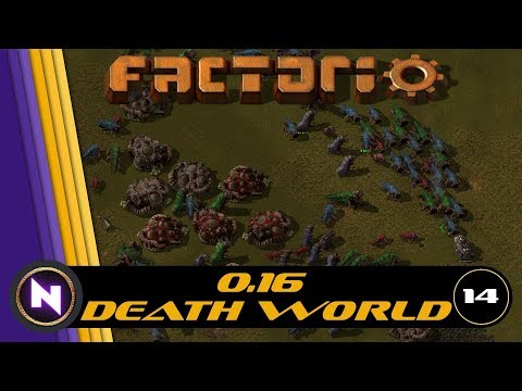 Factorio 0 15 - Angels Mods, My Way - E16 FIRST TRACKS by Nilaus