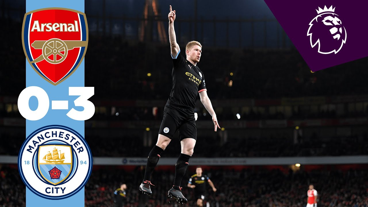 ARSENAL 0-3 MAN CITY HIGHLIGHTS | De Bruyne & Sterling Goals