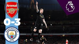 Download ARSENAL 0-3 MAN CITY HIGHLIGHTS | De Bruyne & Sterling Goals Mp3 and Videos