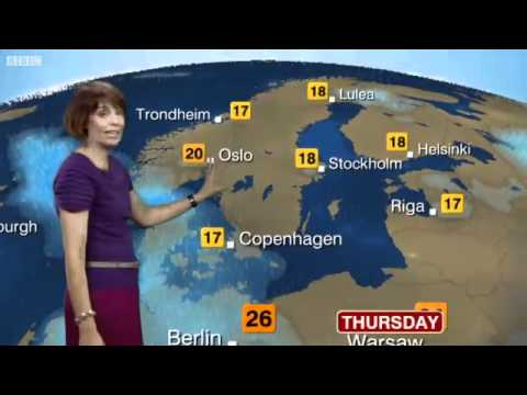 Latest Europe Forecast Video - Posted At 12:45 - BBC Weather