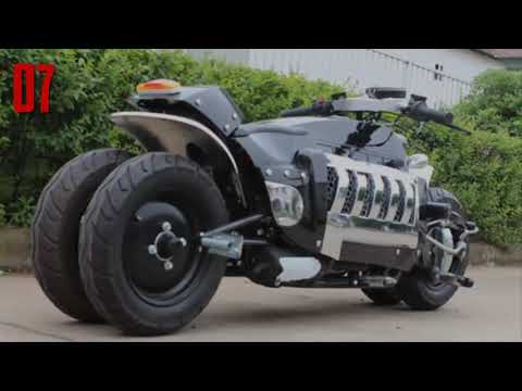 8 Craziest Homemade Motorcycles