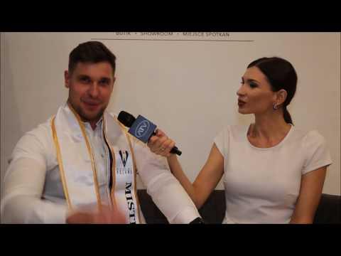Mister Gay Poland 2016 w wywiadzie dla Telewizji ATV