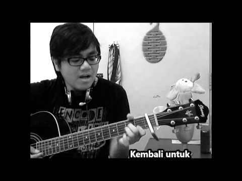 Cakra Khan - Harus Terpisah Acoustic Cover with Chords Tutorial