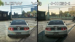 Need For Speed Most Wanted 2012   Low vs High Graphics