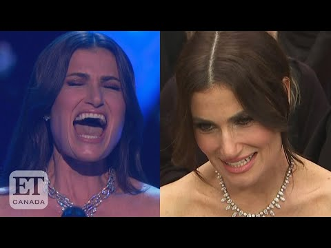 Idina Menzel Talks 'Into The Unknown' Oscars Performance