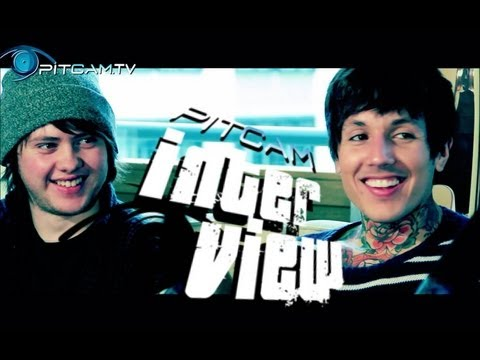 BRING ME THE HORIZON - Random Questions Interview with Oli Sykes & Lee Malia // PitCam.TV