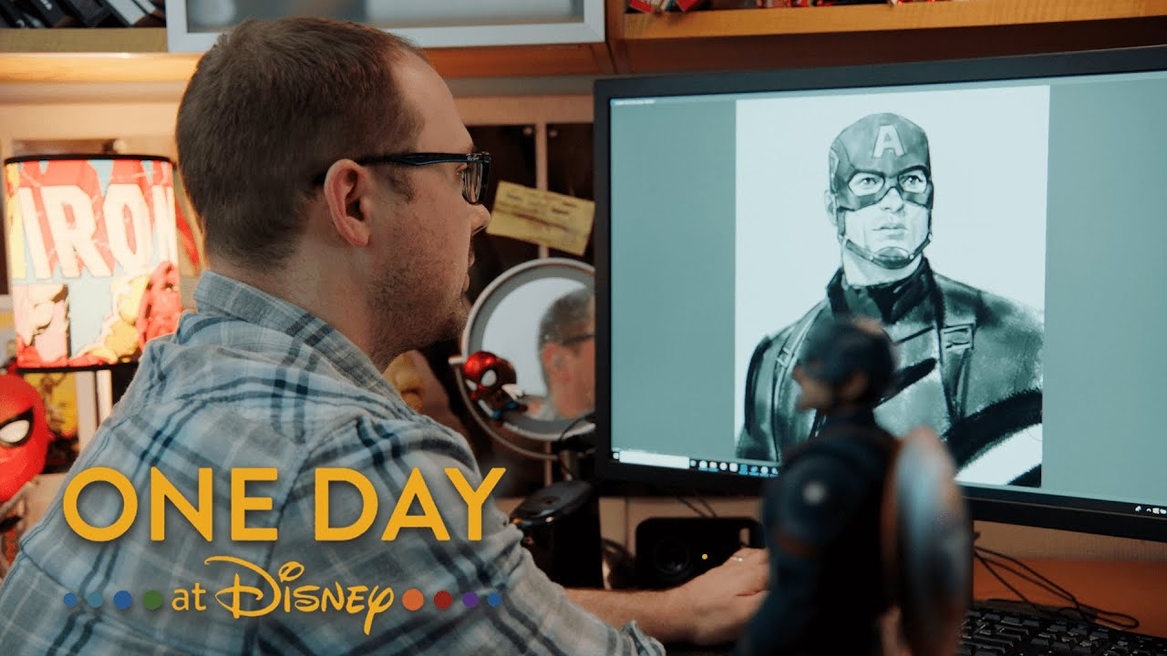 A Look Inside Marvel Studios With One Day at Disney!
