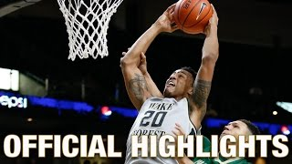 John Collins Official Highlights | Wake Forest Forward