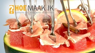 Hoe Maak Ik - Sangria Meloen