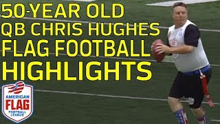 50-Year-Old QB LIGHTS UP Flag Football League (Highlights: 27/29, 369 YDs, 5 TDs) | NFL