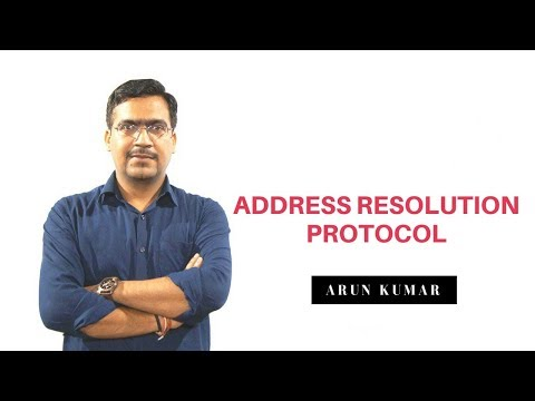 Address Resolution Protocol ARP in hindi || Arun Kumar || Cisco Trainer