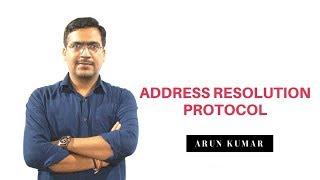 Address Resolution Protocol ARP in hindi || Arun Kumar || Cisco Trainer