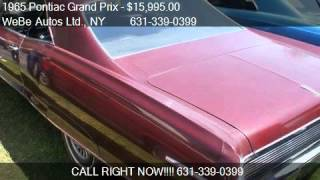 1965 Pontiac Grand Prix For Sale Coupe - for sale in Riverhe