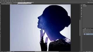 Уроки По Фотошопу: Эффект Двойной Экспозиции | Самый простой способ