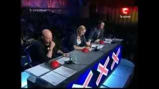 Украина мае талант 2 - Нина Зубко (прикол полнейший)