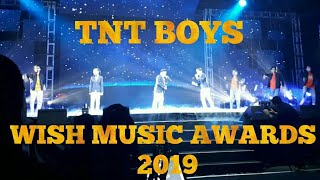 TNT Boys - Wish Music Awards Breaking Fee & I Want To Break Free