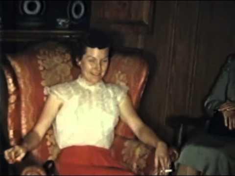 Dinner at Hardwick Clothing, April, 1955