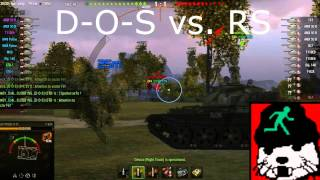 World of Tanks Clan Wars: D O S vs  RS