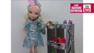 Стеллаж для кукольного дома / Shelves for a doll house(Шкаф-стеллаж для кукольного интерьера. Материалы: плотный картон, спичечные коробки, цветная бумага, клей..., 2016-01-04T06:04:10.000Z)