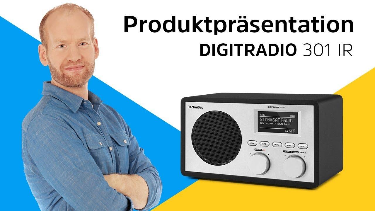 Video: DIGITRADIO 301 IR | So kriegen Sie über 11.000 Radiosender nach Hause. | TechniSat