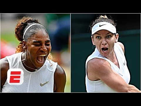 Serena Williams vs. Simona Halep: 'Halep is a huge underdog' - Brad Gilbert | 2019 Wimbledon