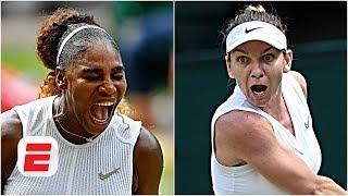 Serena Williams vs. Simona Halep: 'Halep is a huge underdog' - Brad Gilbert | 2019 Wimbledon