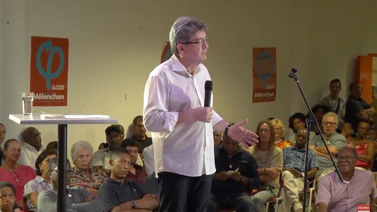 MÉLENCHON : Réunion publique au Gosier en Guadeloupe