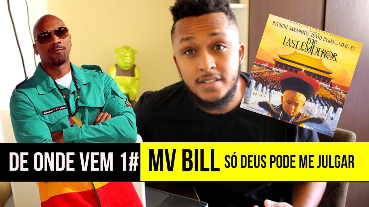 Frases Só Deus Pode Me Julgar: MV BILL - SÓ DEUS PODE ME JULGAR