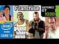 GTA Franchise GT 1030 3 4 5 Vice City San Andreas Grand Theft Auto Series Benchmark mp3