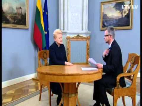 Dalia Grybauskaitė about free media (Gundars Rēders interview)