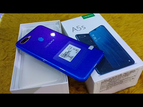 Oppo A5s Blue Edition Unboxing ।।Oppo A5s 3GB+32GB Blue Unboxing ।। A5s Blue Colour, Specification