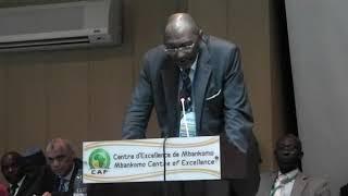Seidou Mbombo Njoya Nchuowah president élu  de la FECAFOOT  Par Vincent kamto.avi