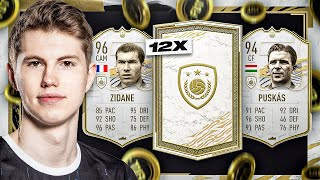 KRANKE PACKS! 12x PRIME ICON PACKS GÖNNEN MEGA 😍🔥 I FIFA 21