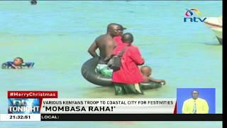 'Mombasa Raha': Kenyans troop to coastal city for festivities