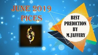 Pices month of june horoscope 2019 - pisces horoscope | june monthly horoscopes 2019 by M. Jaffery