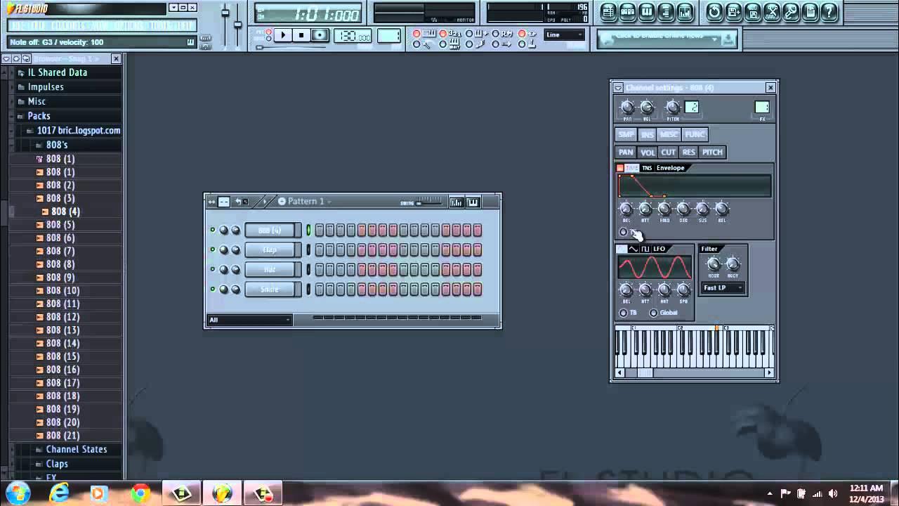 Как сделать 808 басс в fl studio фото 166