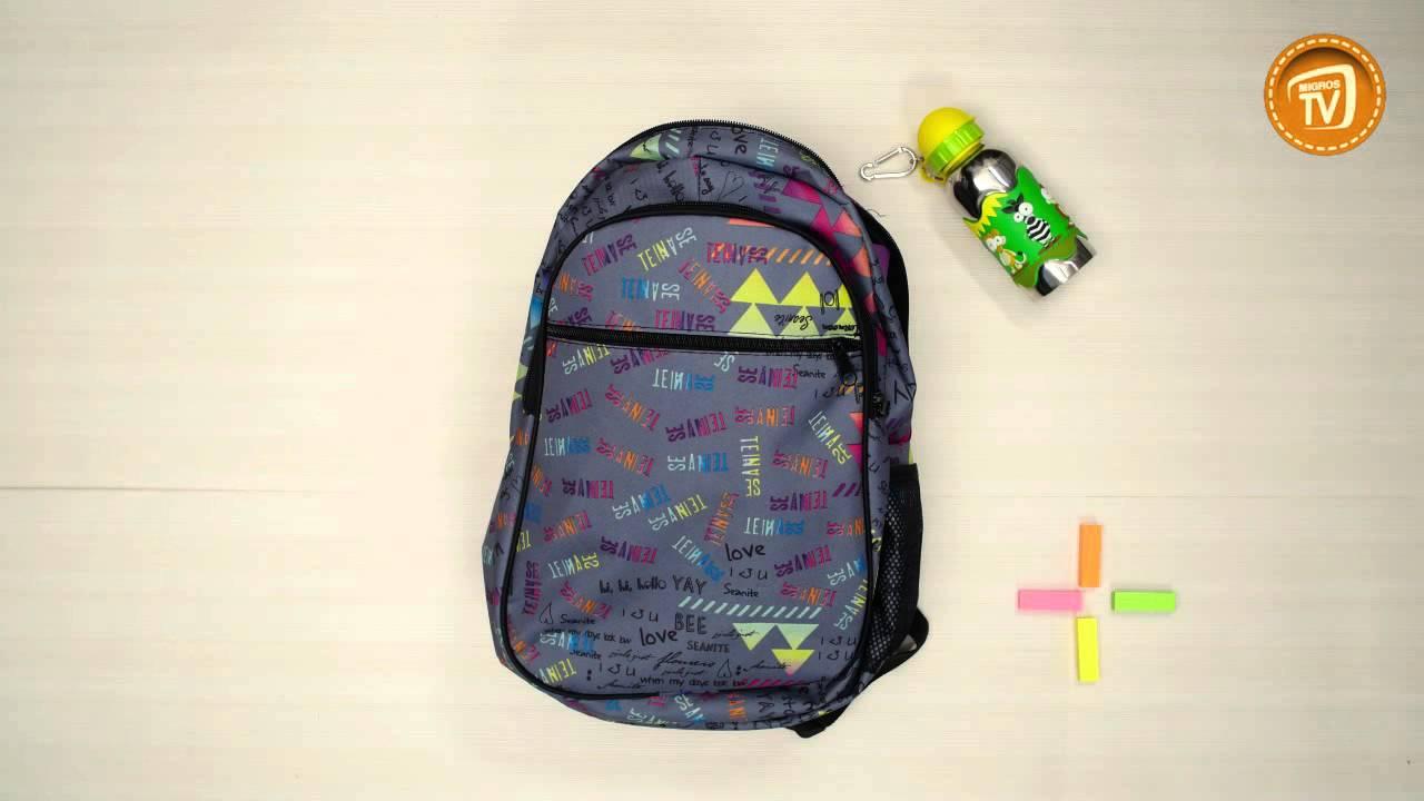 Bir kız için okul çantası nasıl seçilir