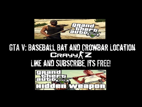 gta online how to get the baseball bat