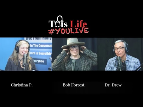 Christina P Chats with Bob Forrest and Dr.  Drew #youlive video