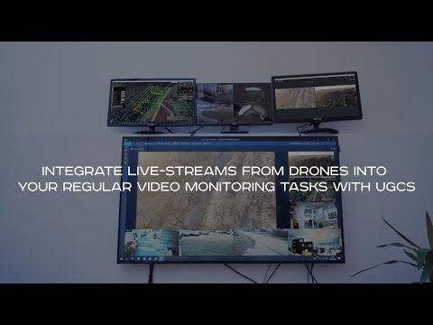 Integrate UgCS CC Video With LUXRIOT EVO