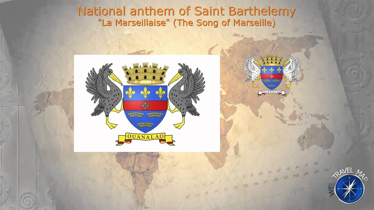 Saint Barthelemy National Anthem