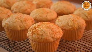 Cheese Cupcake Recipe  How to Make Cheese Cupcake  Ep. 102  Mortar and Pastry