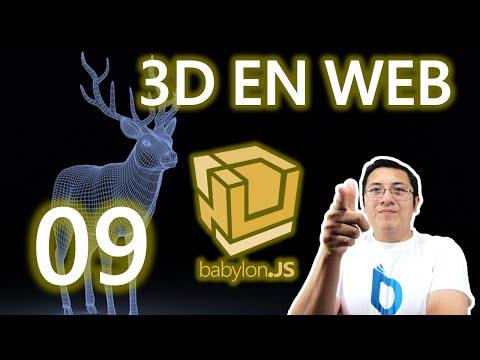 05c.- Curso babylon.js y webgl (Rápido):Colisiones