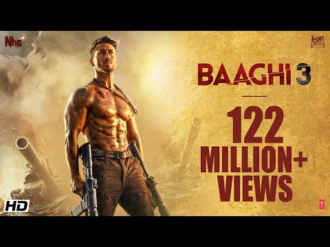 Baaghi 3 Official Trailer