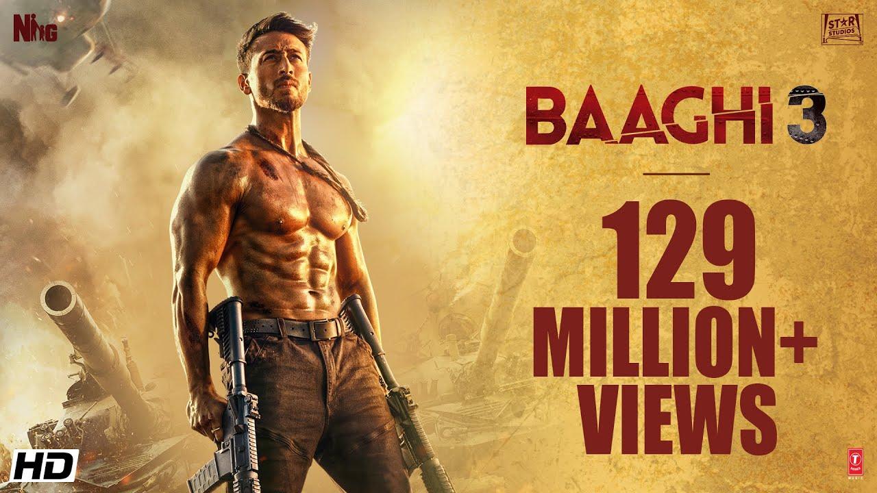 Baaghi 3  Official Trailer  Tiger Shroff Shraddhariteishsajid Nadiadwalaahmed Khan 6th March