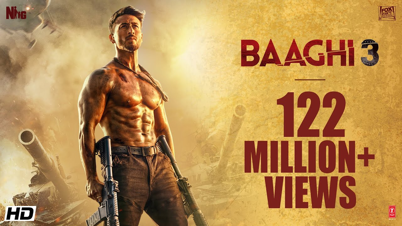 Download Baaghi 3 | Official Trailer | Tiger Shroff |Shraddha|Riteish|Sajid Nadiadwala|Ahmed Khan| 6th MARCH