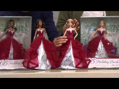 2015 Holiday Barbie Doll By: Mattel with Jayne Brown