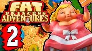 Fat Princess Adventures Walkthrough Part 2 RETURN TO BLACK FOREST / ORGURT BOSS DEFEATED