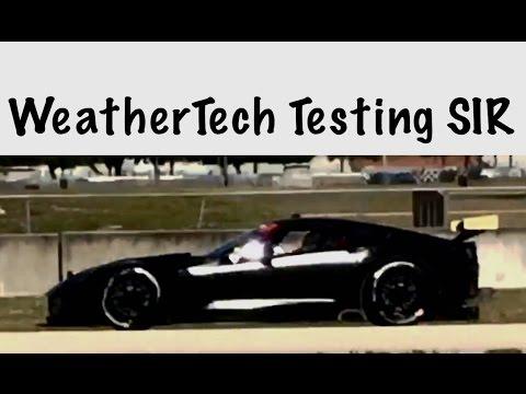 Weathertech Sportscar Championship IMSA Sebring Testing 10-23-15